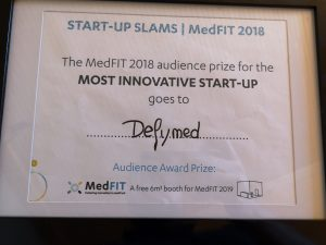 Audience prize for the most innovative start-up